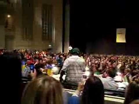 Knowshon Soulja Boy Dance at UGA Greek Grind 2007