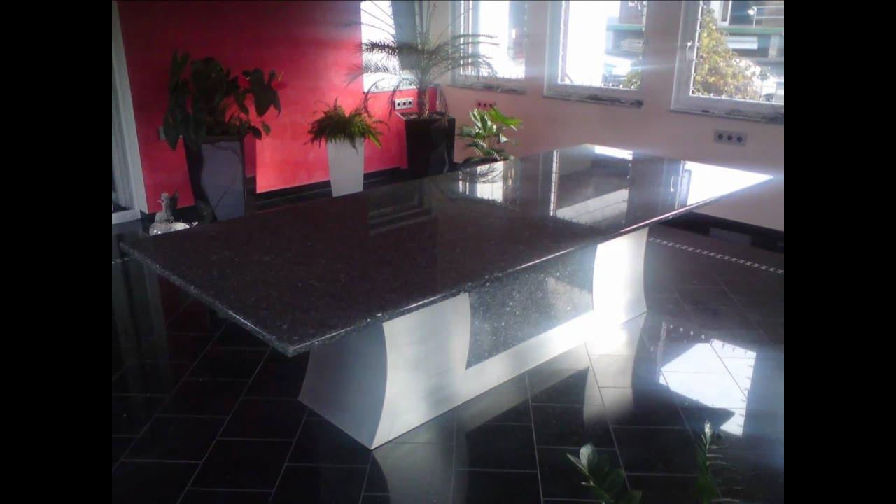 Nirogra GmbH Esstisch Design Nach Ihren Vorstellungen Tisch Granit