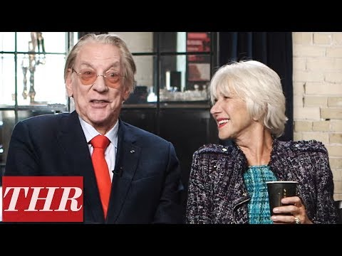 "Helen Mirren & Donald Sutherland ""Improvised Quite a Lot"" in 'The Leisure Seeker' 