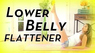 Lower Belly Flattener | POP Pilates