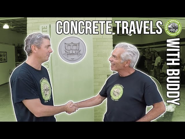 Concrete Travels with Buddy 2x05 -  The Concrete Countertop Institute