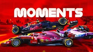 F1 2018 CRASH COMPILATION