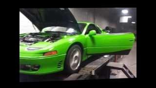 3000gt vr4 dyno 500hp kawasaki green 18 psi boost