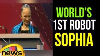 Sophia, the first humanoid robot to be granted citizenship of any c...