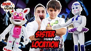 Папа Роб и Ярик играют в Five Nights at Freddy s Sister Location. Часть 1
