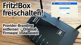 Fritzbox freischalten & Provider-Branding entfernen!