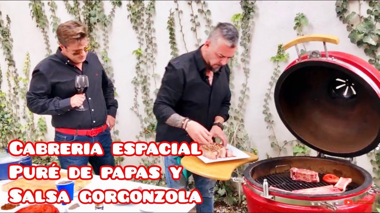 Cabreria Espacial, Pure de Papa y Salsa de Gorgonela para Guapos Fresones