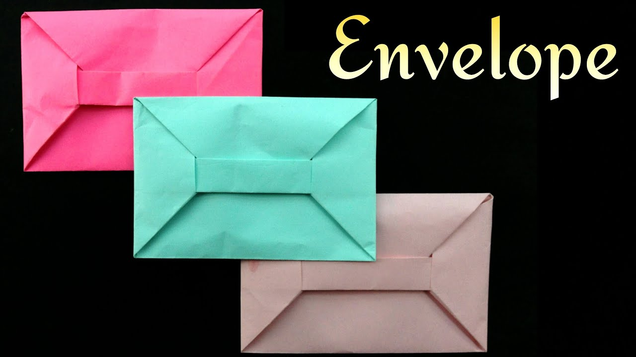 How to make a paper envelope 52