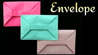 Origami Paper 'Envelope'  - A4 sheet (No Glue or Tape)