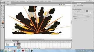 Как нарисовать анимацию взрыва (для новичков)