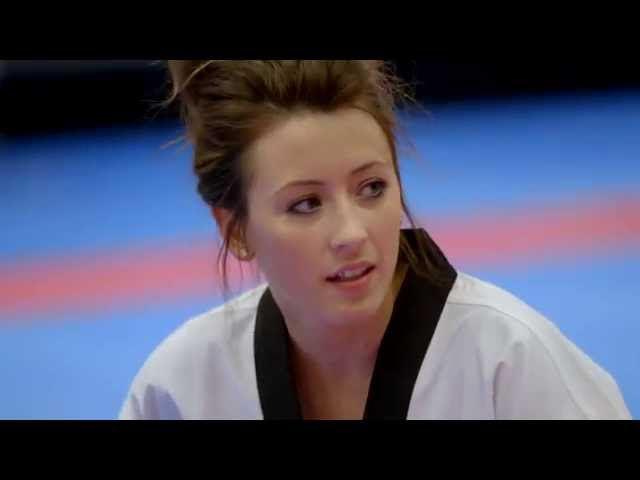 Jade Jones is all in and training