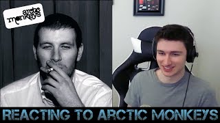 Reacting to Arctic Monkeys!!!