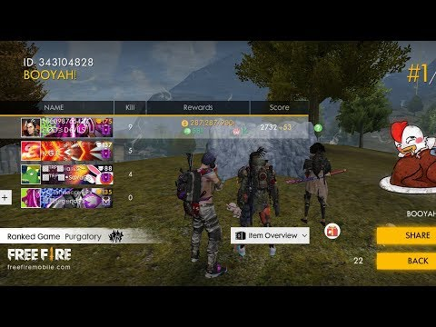 FREE FIRE RANKED MATCH 🔥
