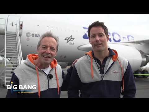 Teasing Jean Francois Clervoy et Thomas Pesquet #BigBangSMJ
