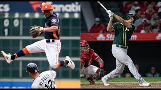 Oakland Athletics vs Houston Astros Highlights || July 12, 2018