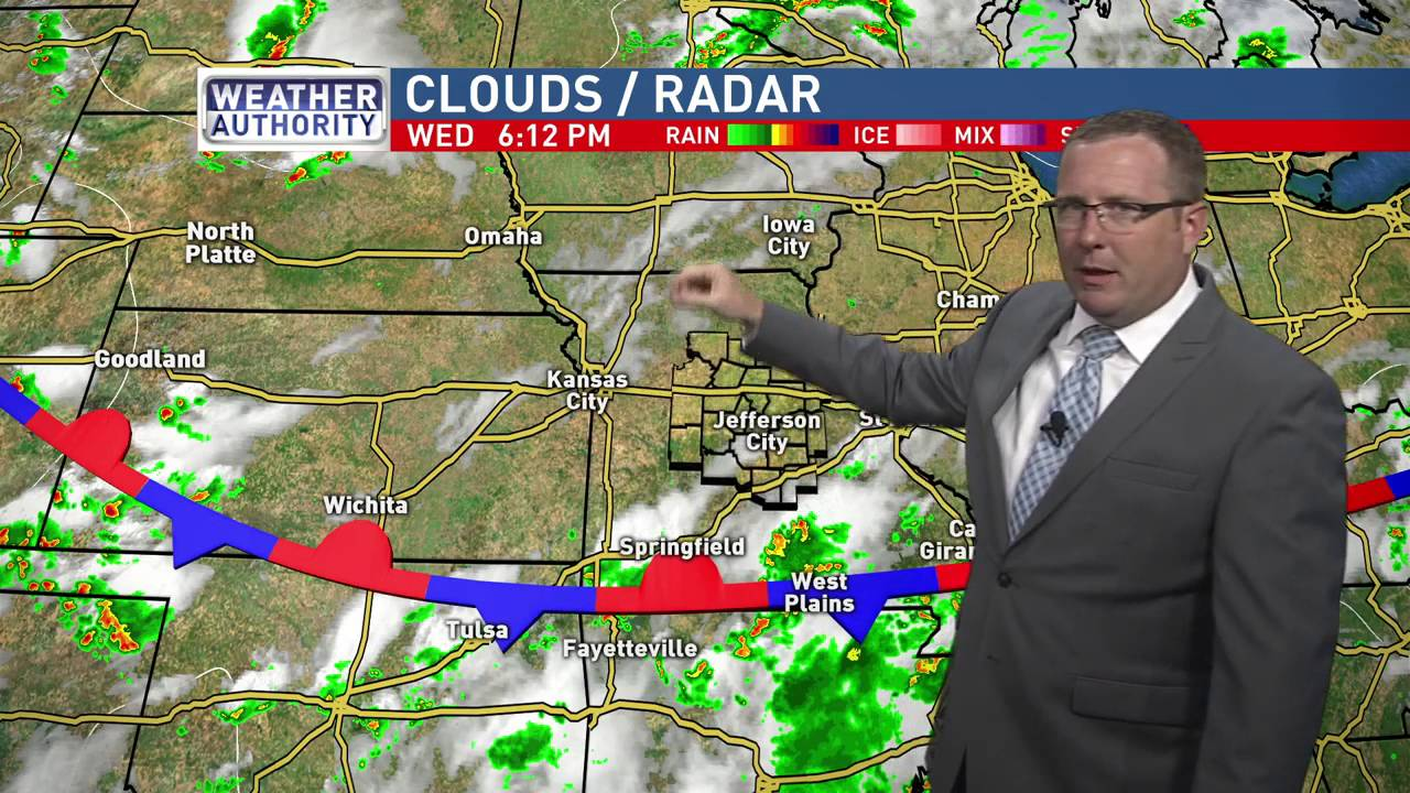 Mid-Missouri Weather (07/27): Evening Forecast