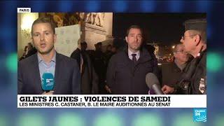 Gilets jaunes : Christophe Castaner et Bruno Le Maire auditionnés au Sénat