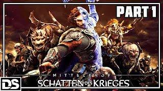 Mittelerde Schatten des Krieges Gameplay German Part 1 - Der Ring der Macht (Let