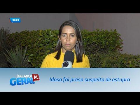 Idoso foi preso em São Miguel dos Campos suspeito de estuprar criança de 11 anos