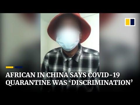 Coronavirus: African in Guangzhou, China says 'discrimination' behind 6-day mandatory quarantine