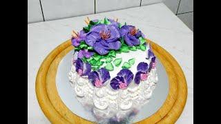 УКРАШЕНИЕ ТОРТОВ торт ЭВЕЛИН от SWEET BEAUTY СЛАДКАЯ КРАСОТА Cake Decoration