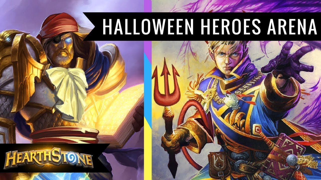 Best Deck To Draft For Hearthstone Arena Halloween 2020 Hearthstone] Halloween Heroes Arena   Quick Draft and Gameplay