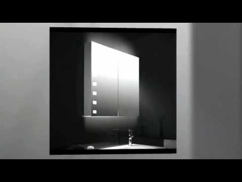 Spiegelschrank Mit Licht Youtube