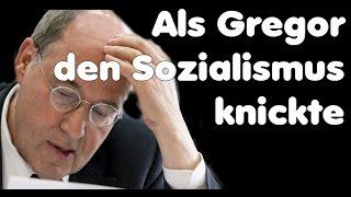 Als Gysi plötzlich merkte wie bekloppt Sozialismus ist - SteuerXL