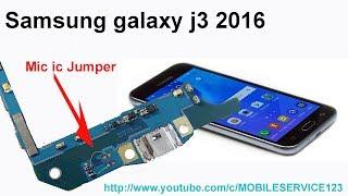 Samsung Galaxy J3 (2016) Mic ic jumper solution