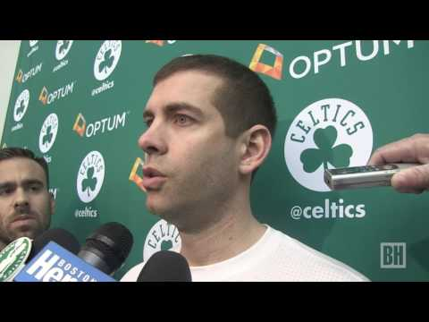 Celtics talk about potentially being the #1 seed in NBA playoffs