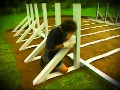 Installazione montaggio piscina fuori terra gre youtube for Piscine fuori terra