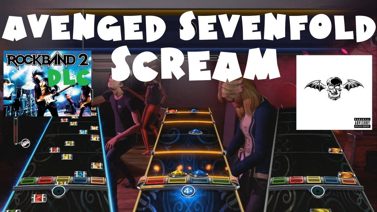 avenged sevenfold scream rock band 2 dlc expert full band july 27th 2010 youtube. Black Bedroom Furniture Sets. Home Design Ideas