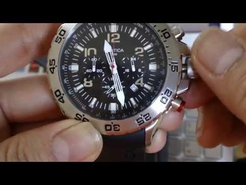 REVIEW: NAUTICA N14536G CHRONOGRAPH LIGHT DIVING MEN'S WATCH