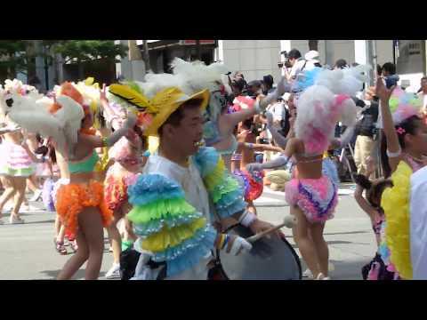 神戸まつり2014 サンバストリート 神戸サンバチーム (Kobe Festival 2014)
