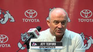 Fresno State Football: Jeff Tedford Press Conference (10/16/17) thumbnail