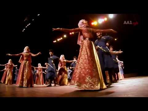Vainah in Antwerpen (chechen dance group)