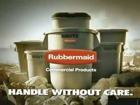 Rubbermaid BRUTE Container Built To Last