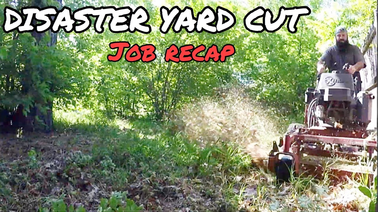 $500 DISASTER YARD CLEAN UP (SATISFYING)