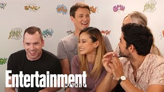 The Gifted: Stephen Moyer On Potential Wife Anna Paquin's Cameo | SDCC 2017 | Entertainment Weekly