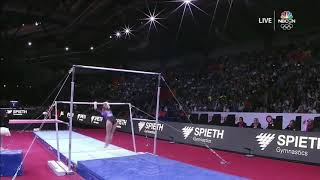 Daria Spiridonova Bars Team Final 2019 World Championships