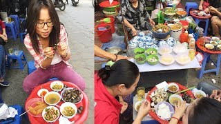 Eating Snail & Vietnamese Street Food in Hanoi