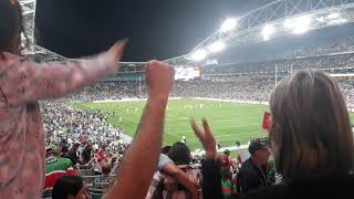 2018 NRL semis Rabbitohs Dragons last seconds field goal