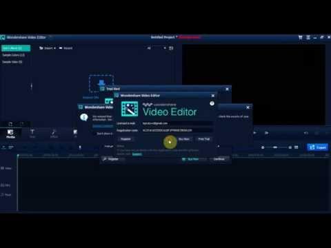 Wondershare Video Editor Key Register   HD-YT.Blogspot.Com
