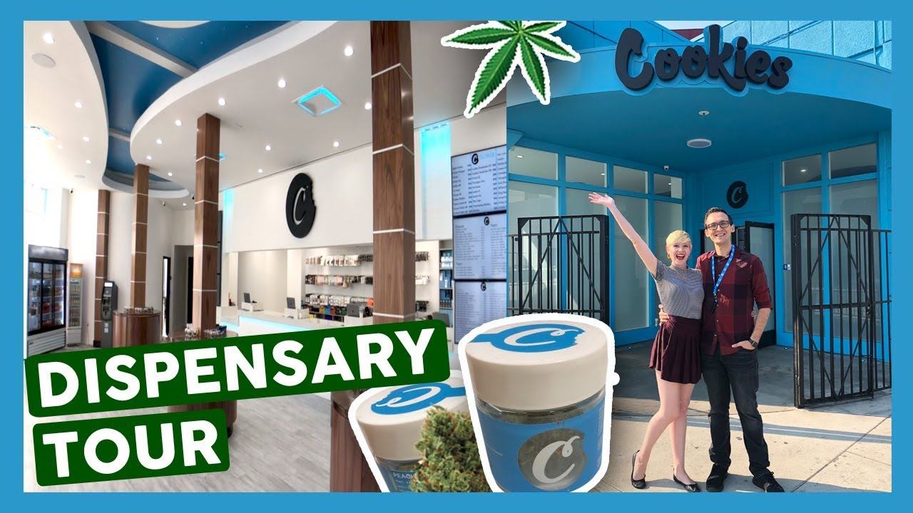 d5183ca0608 Best NEW Dispensary in LA! (Cookies Melrose) - YouTube