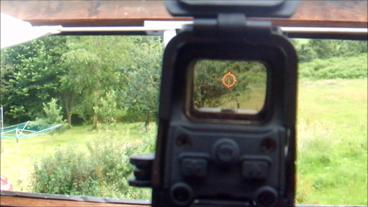 how to make a holographic sight
