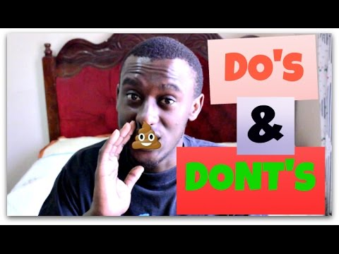 DO'S AND DONT'S When visiting a Kenyan Home