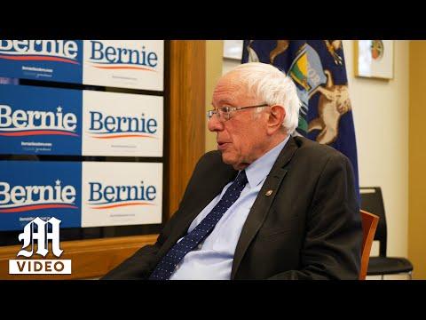 Senator Bernie Sanders Interviews with The Michigan Daily