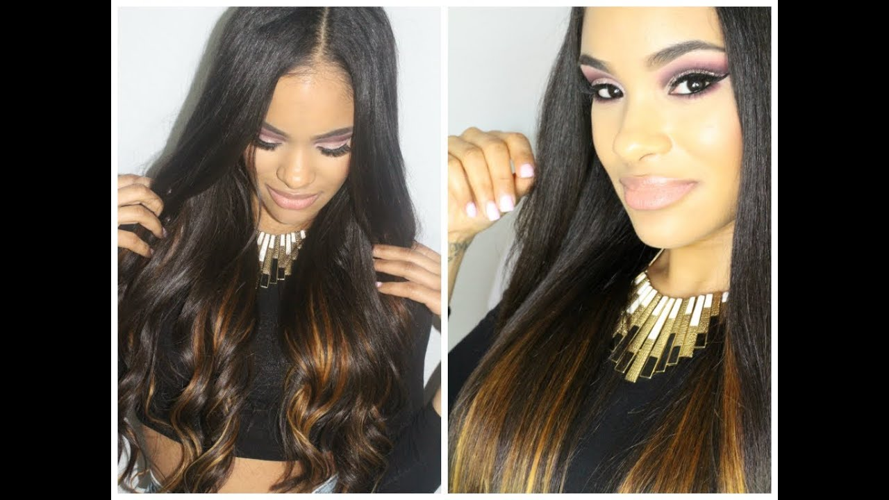 How I Add Volume Color To My Hair Ft Wowafrican Hair Extensions
