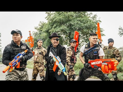 LTT Nerf War : Captain SEAL X Warriors Nerf Guns Fight Criminal Group Dr.Lee Crazy Bad Boy