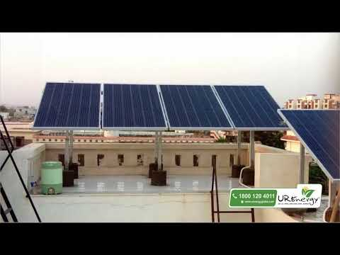 2.56 KW Residential Solar Panel System - U R Energy